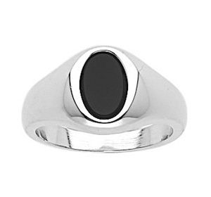 Montebello Ring Paul - Heren - 925 Zilver - Onyx - 11 mm-0