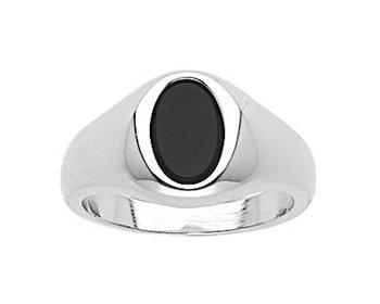 Montebello Ring Paul - Heren - 925 Zilver - Onyx - 11 mm-0