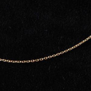 Montebello Ketting Anker - 925 Zilver Verguld - 40cm - 1mm-0