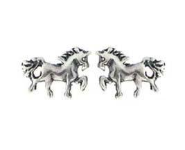 Montebello Oorbellen Horse - Dames - 925 Zilver - Paard - 10x7mm-0