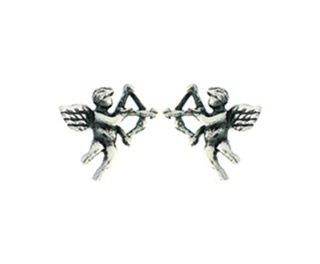 Cupido engeltjes - oorbellen in zilver-0