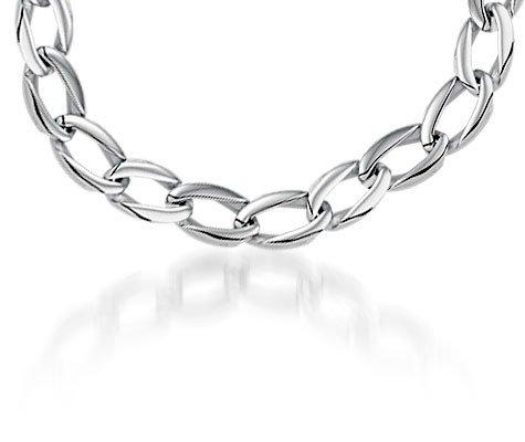 Briza Edelstalen collier - Montebello juwelen-0