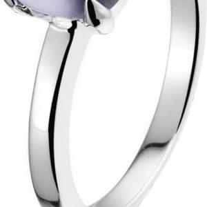 Montebello Ring Purple Accent Dames - Zilver Gerhodineerd - Zirkonia -0