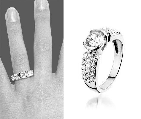 Zilveren ring Lolly - Montebello juwelen-0