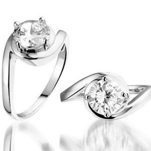 Solitude Zilveren ring - Montebello juwelen-0