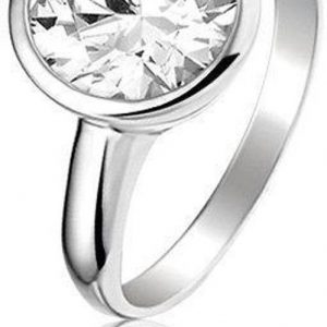 Montebello Ring Lene - Dames - Zilver Gerhodineerd - ∅10 mm-0