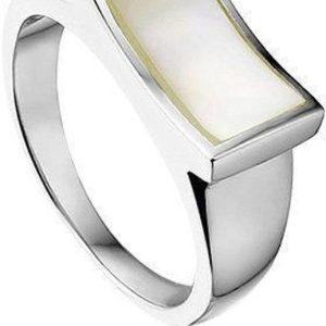 Montebello Ring Tinne - Dames - Zilver Gerhodineerd - Parelmoer-0