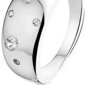 Montebello Ring Jana - Dames - Zilver Gerhodineerd - Zirkonia - 8 mm-0