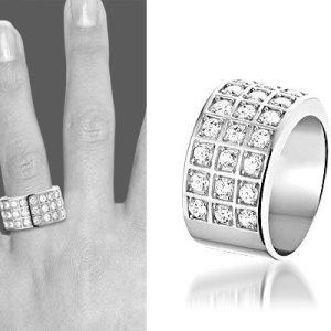 Zilveren ring met zirkonia Caro - montebello sieraden-0