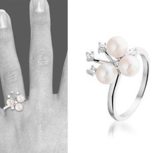 Zilveren ring Aimée - montebello sieraden-0