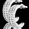 Karin zilveren oorbellen - Amanto Juwelen -0