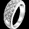 Keulen zilveren ring met zirkonia - Amanto Juwelen -0