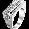 Kortrijk zilveren ring met zirkonia - Amanto Juwelen -0