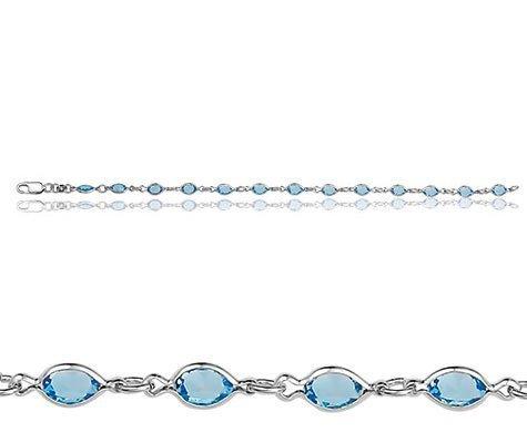 Montebello Armband Rabat - Dames - 925 Zilver Gerhodineerd - Zirkonia - 19 cm-0