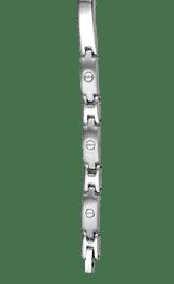 Montebello Armband Bjorn - Heren - 316L Staal - Mat/Blinkend - 6mm - 21cm-0