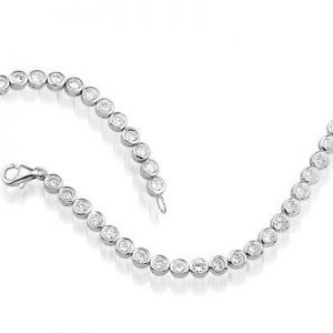 Montebello Armband Amourette - 925 Zilver Gerhodineerd - 4mm - 19cm-0