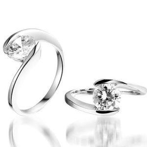 Modern You Zilveren ring - Montebello juwelen-0
