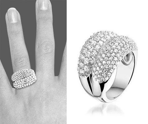Sharon zilveren ring - montebello sieraden-0