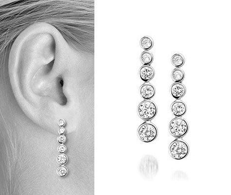 Soiree Zilveren oorbellen - Montebello juwelen-0