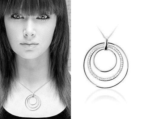 Trini II zilveren ketting - Montebello juwelen-0