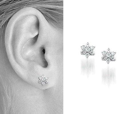 Verda Zilveren oorbellen - Montebello juwelen-0