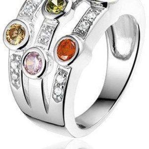 Fancy Colors zilveren ring - montebello sieraden-0