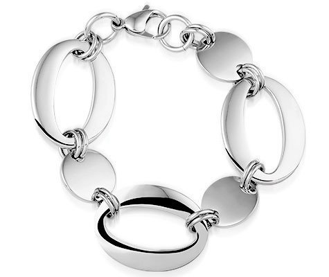 Montebello Armband Julina - Dames - 316L Staal - Ovaal - Rond - 27 mm - 20 cm-0