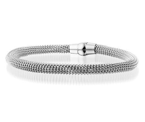 Montebello Armband Aalst - Dames - Staal - Magneet - 19.5 cm-0
