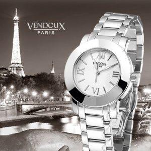 Notre Dame, horloge uit edelstaal - Vendoux Exclusive-0
