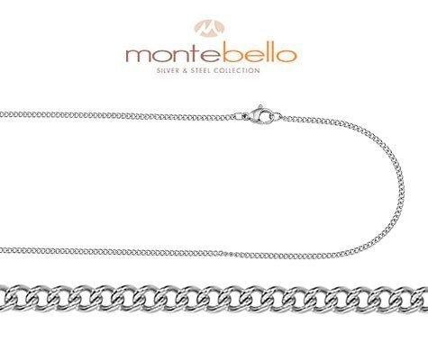 Montebello Ketting Sibari 45 - Heren - Staal - 45 cm-0