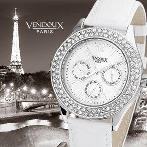 Pont de Sully, zomers horloge uit edelstaal - Vendoux Exclusive-0