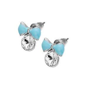 Strikje, metalen oorbellen - amanto kinderjuwelen-0