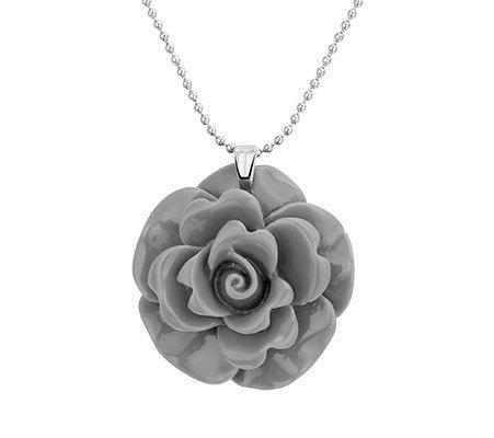 Flower G, fantasie hanger - Amanto juwelen-0