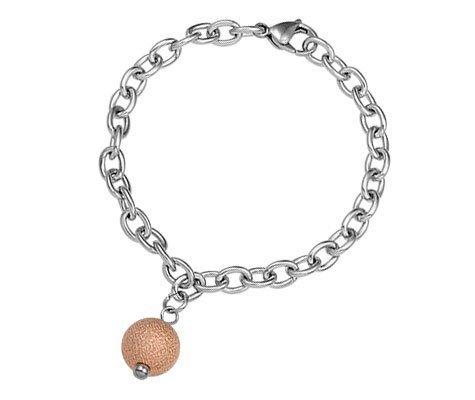 Calciet, edelstalen armband - Montebello Juwelen-0