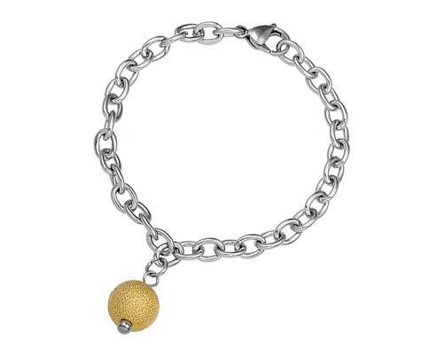 Chalcedoon, edelstalen armband - Montebello Juwelen-0
