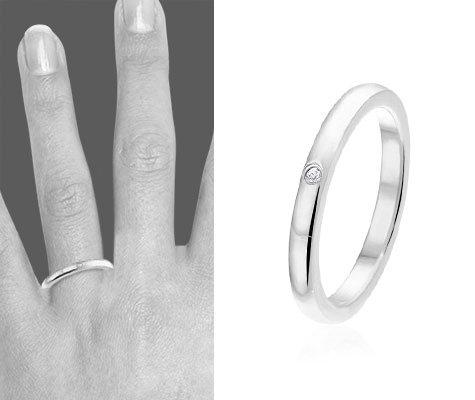 Vion, edelstalen ring - montebello sieraden-0