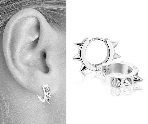 Vulmont, edelstalen oorbellen - Montebello juwelen-0