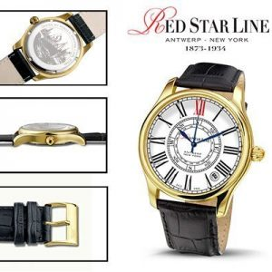 RSL02, edelstalen horloge - Red Star Line Watches-0