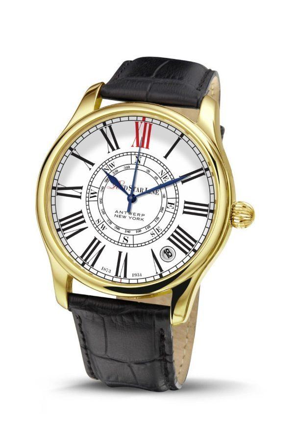 RSL02, edelstalen horloge - Red Star Line Watches-4232
