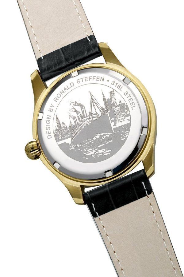 RSL02, edelstalen horloge - Red Star Line Watches-4233