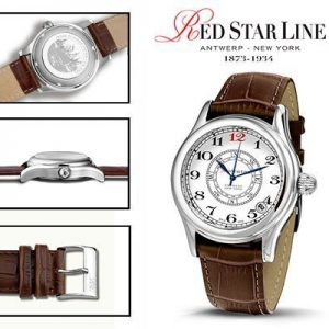 RSL07, edelstalen horloge - Red Star Line Watches-0