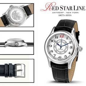 RSL10, edelstalen horloge - Red Star Line Watches-0