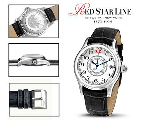RSL10, edelstalen horloge - Red Star Line Watches-0