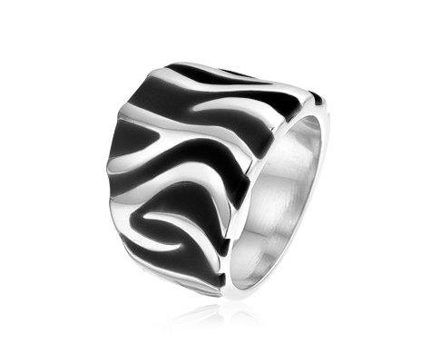 Zenza, edelstalen ring - montebello juwelen-0