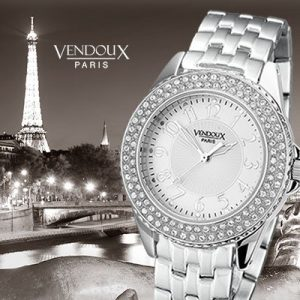 Fleury, horloge uit edelstaal - Vendoux Exclusive-0