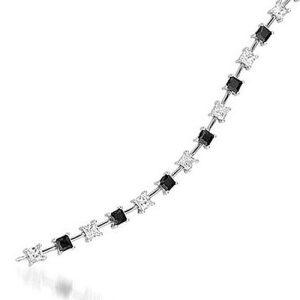 Montebello Armband Tulla - Dames - 925 Zilver Gerh. - Zirkonia - 5mm - 19cm-0