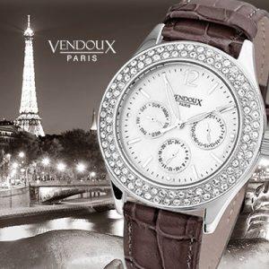 Grasse, horloge uit edelstaal - Vendoux Exclusive-0