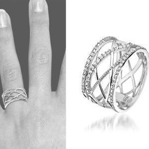 Ceram, zilveren ring - Montebello sieraden-0