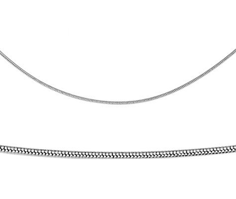Siple, edelstalen ketting - Montebello juwelen-0