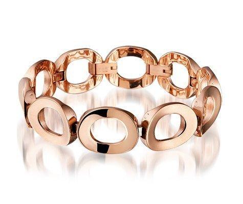Sixties, edelstalen armband - Montebello juwelen-0
